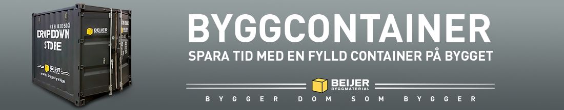 Dropdown Store Byggcontainer |