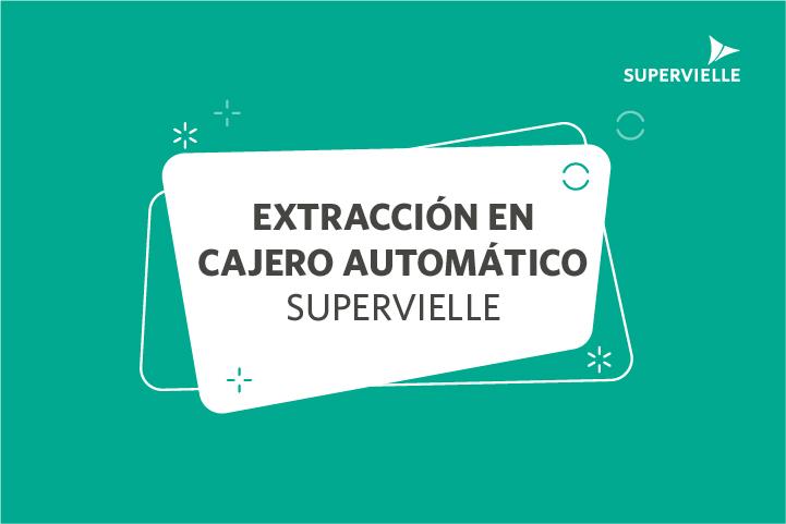 Extracción en cajeros automáticos