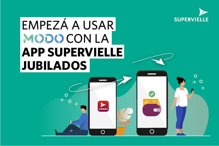 MODO con App Supervielle Jubilados