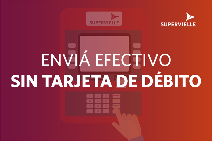 Cómo extraer efectivo sin Tarjeta Supervielle de débito
