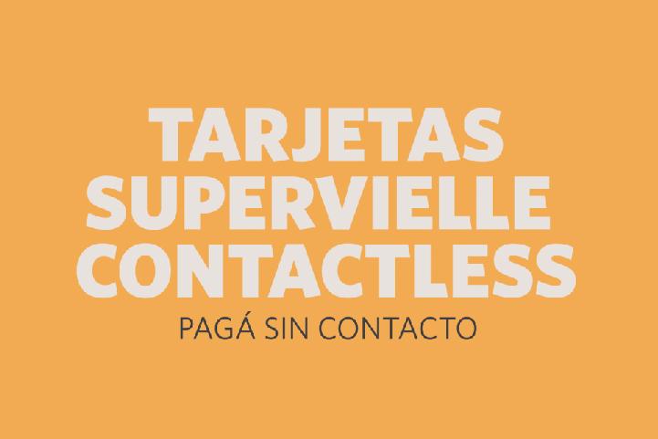 Cómo comprar con Tus Tarjetas Supervielle Contactless