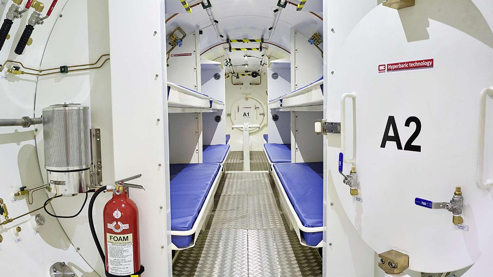 Hyperbare Kammer für Tunnelbohrmaschinen © IHC Hytech B.V.