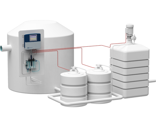 Disinfection plant