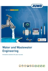 Prospekt Wasser- und Abwassertechnik