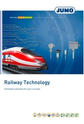 Broschure Railway technology