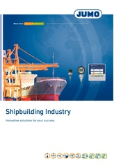 Broshure for the shipbuilding industry