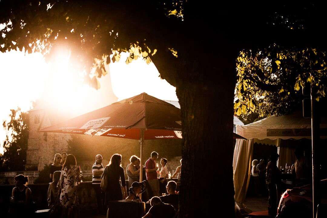 Genussfestival vor dem Fuldaer Dom