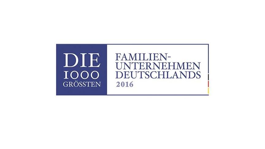 Die 1000 größten Familienunternehmen Deutschlands 2016 Logo