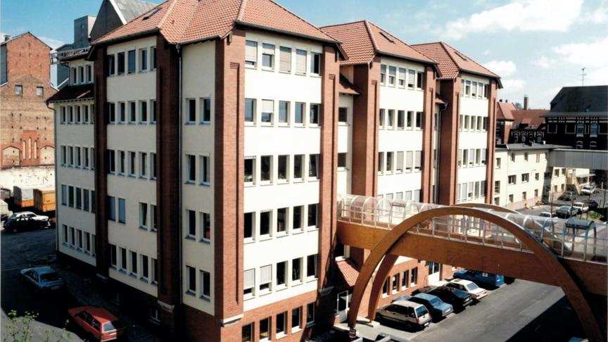 Neubau von JUMO, 1991