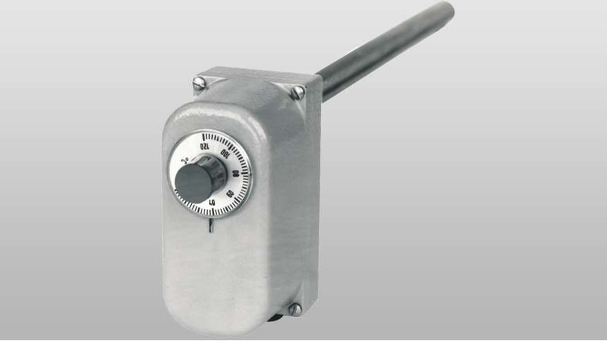 Rod thermostat with microswitch from JUMO