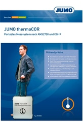 Prospekt JUMO thermoCOR
