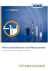 Brochure point and continious level measurement