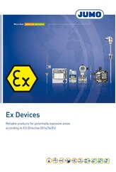 Brochure Measuring and control technology for Ex-areas